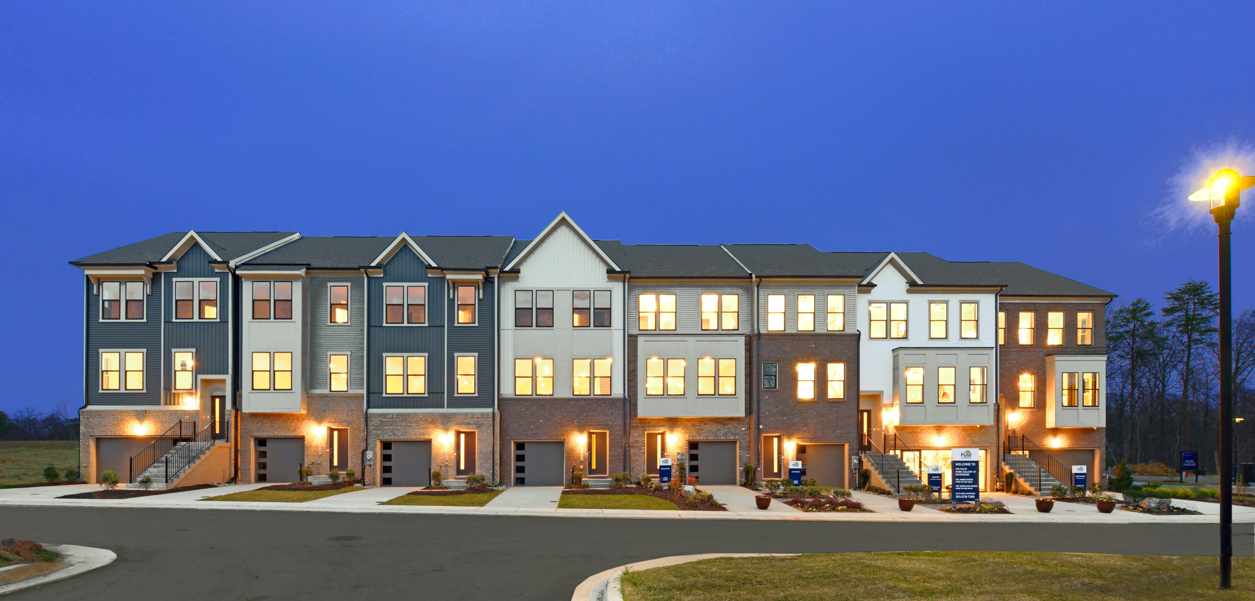 new luxury townhomes on the border of Anne Arundel and Prince Georges County