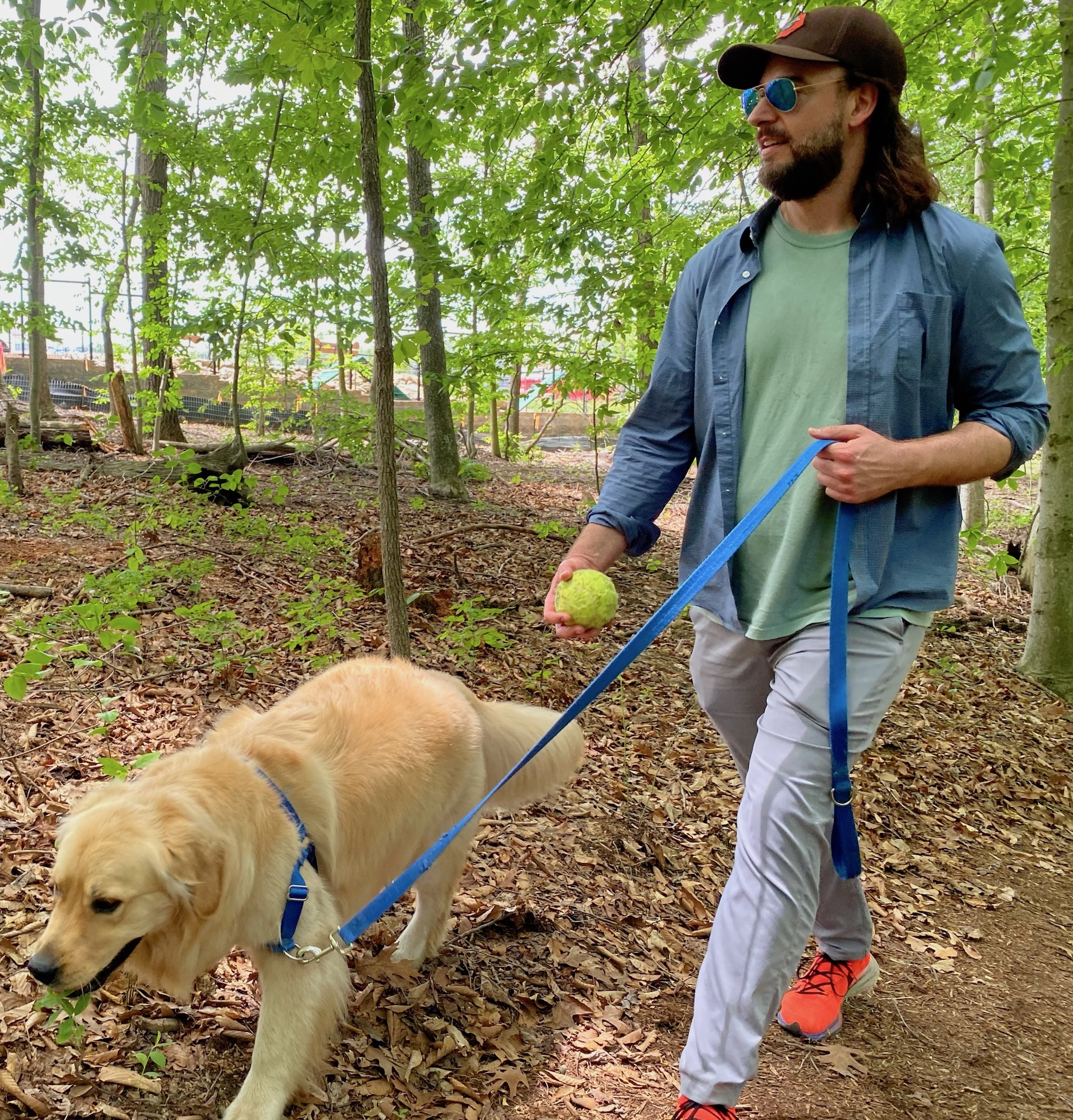 Take the dog for a walk on one of Watershed's many trails